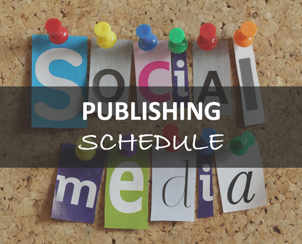 FREE Template - Social Media Publishing Schedule