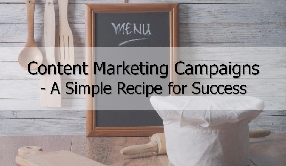 Content Marketing Campaign Recipe